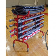 Portable Volleyball Equipment Carrier Cart by Tandem Sport