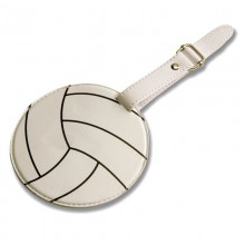 Volleyball Luggage Tag by Tandem Sport
