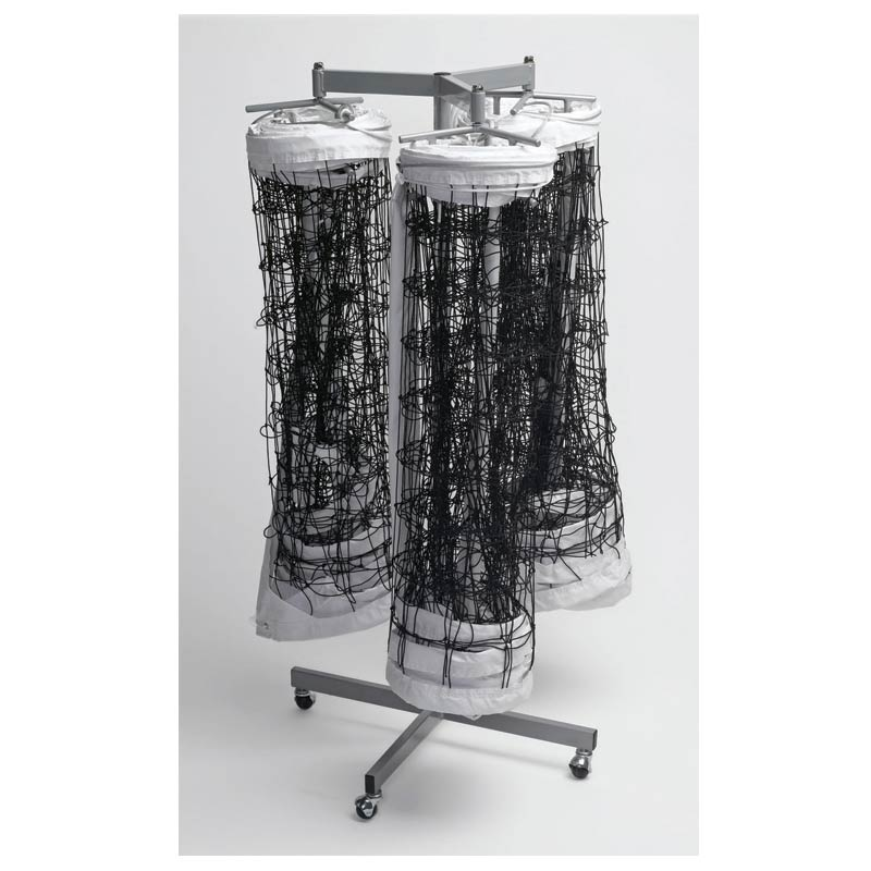 Tandem Sport Triple Net Storage Rack Holds up to 3 Volleyball Nets