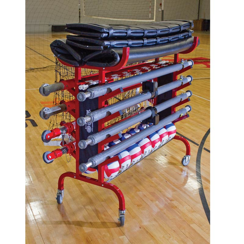 Portable Volleyball Equipment Carrier