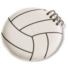 Volleyball Note Pad by Tandem Sport